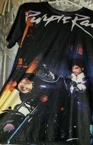 BOGO Prince Purple Rain album concert shirt